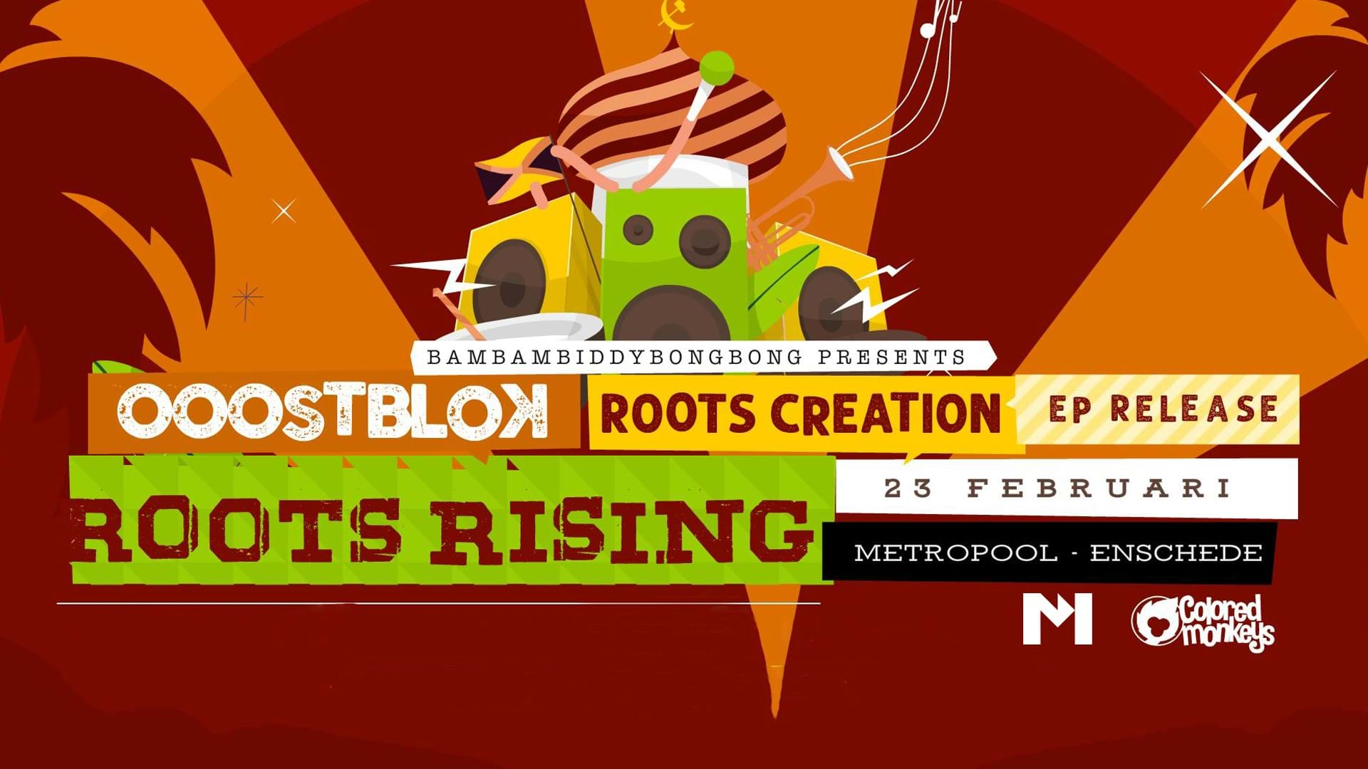 Ooostblok, Roots Creation & Roots Rising